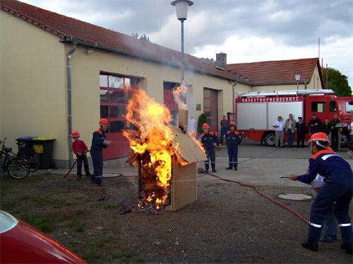Feuerwehr in Panitzsch 2
