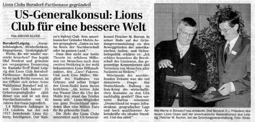 Gründung Muldenthaler Kreiszeitung
