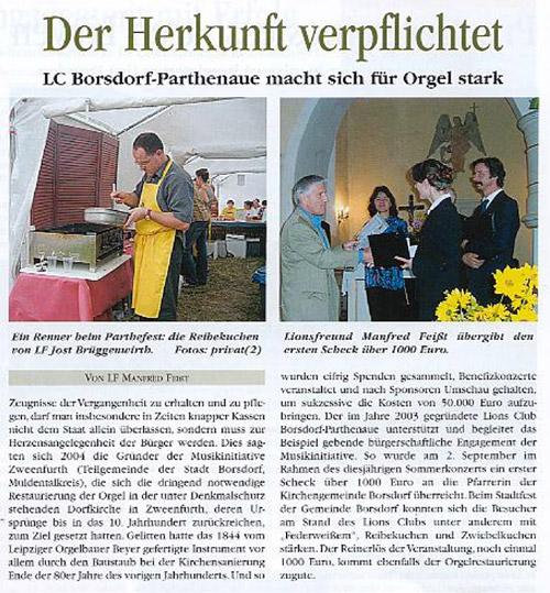 Orgel Zweenfurth