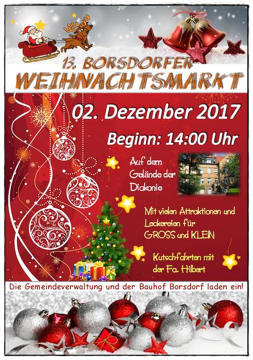 13. Weihnachtsmarkt 2017-4  Plakat